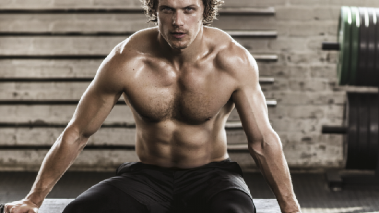 How Sam Heughan Forged A Body Worthy Of A Scottish Highlander